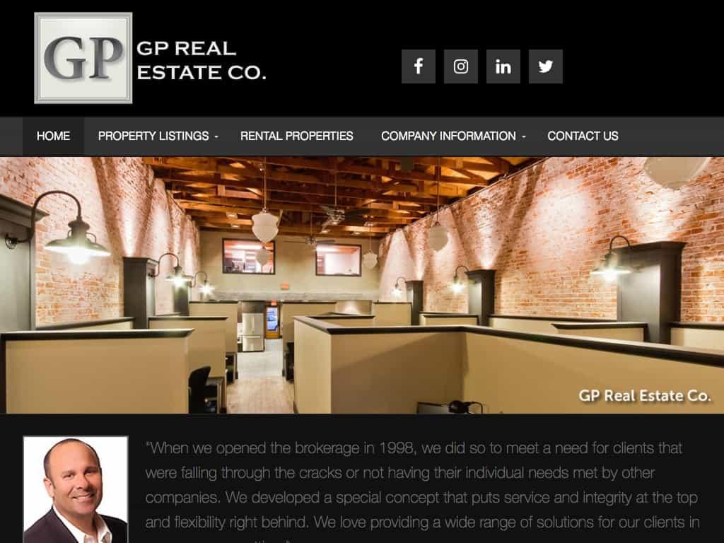 GP Real Estate Screenshot
